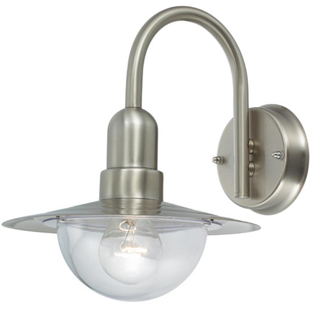 au enleuchte e27 edelstahl lampe gartenlampe au enlampe wandleuchte led leuchte ebay. Black Bedroom Furniture Sets. Home Design Ideas