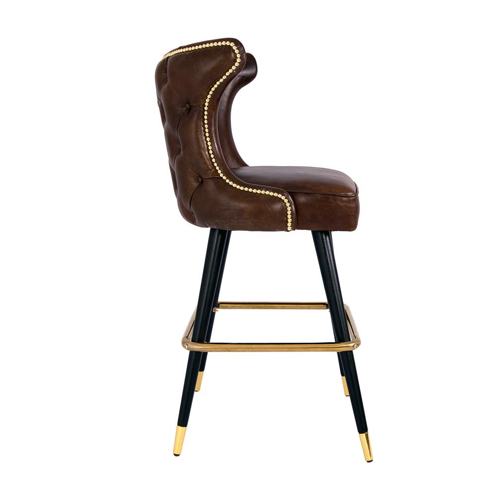 barhocker tullamore leder vintage cigar hocker bar stuhl. Black Bedroom Furniture Sets. Home Design Ideas