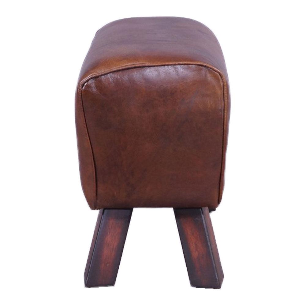 design fu hocker buck union jack vintage leder sprungbock vintage cigar hocker 634480553277 ebay. Black Bedroom Furniture Sets. Home Design Ideas