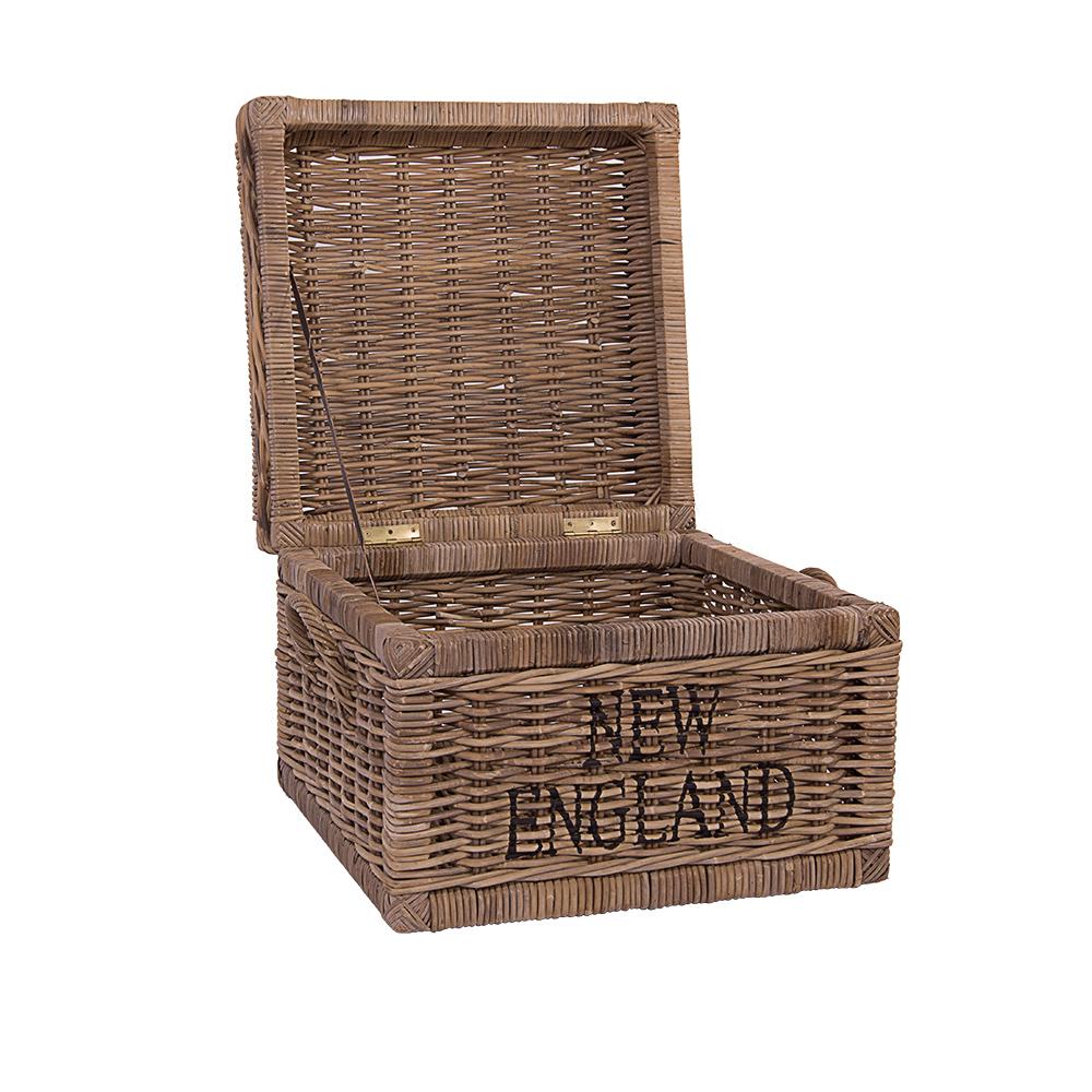 korbtruhe new england weiss rattan rattankorb naturrrattan. Black Bedroom Furniture Sets. Home Design Ideas