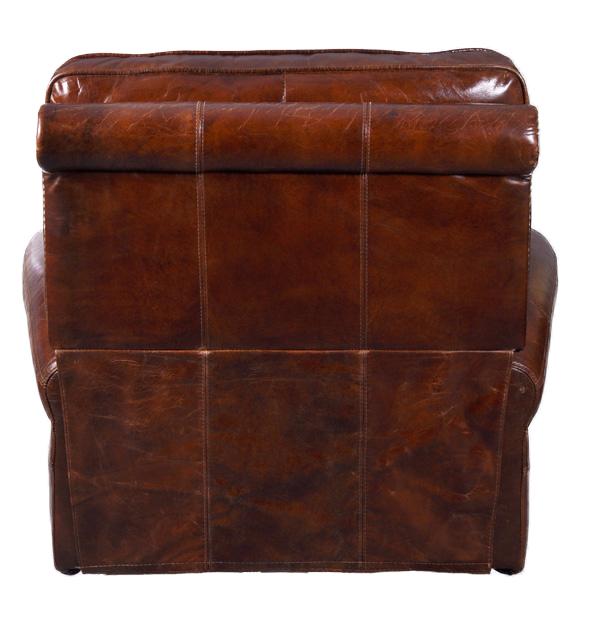 echtleder vintage designsessel lewes ohrensessel neu ebay. Black Bedroom Furniture Sets. Home Design Ideas