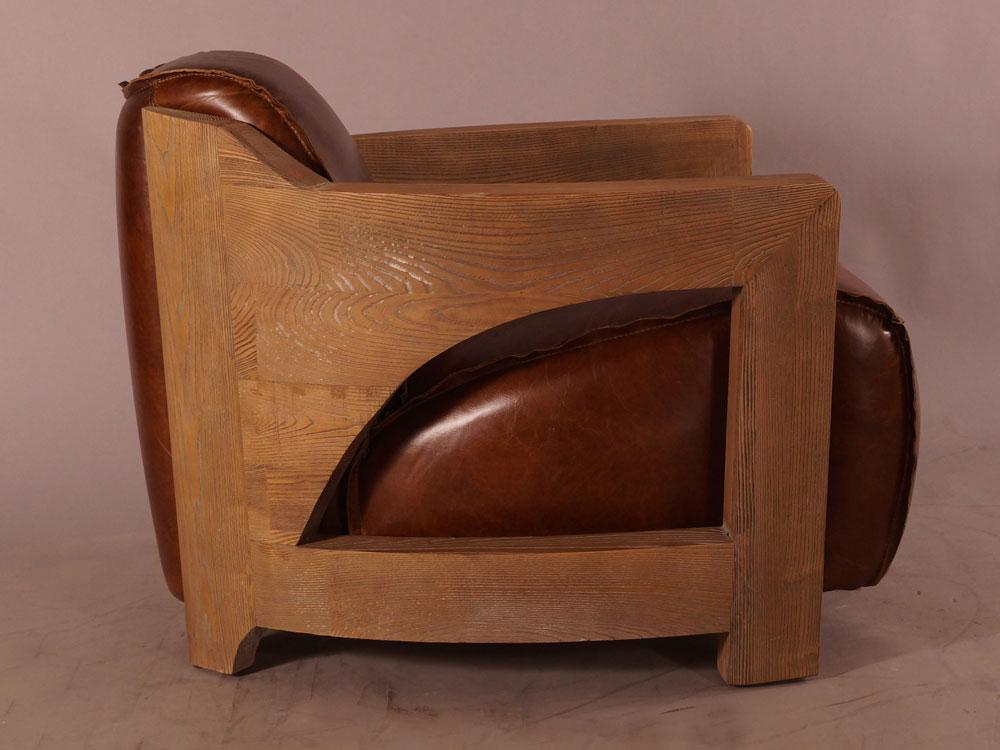 Design clubsessel clifford special braun vintage leder for Sessel braun
