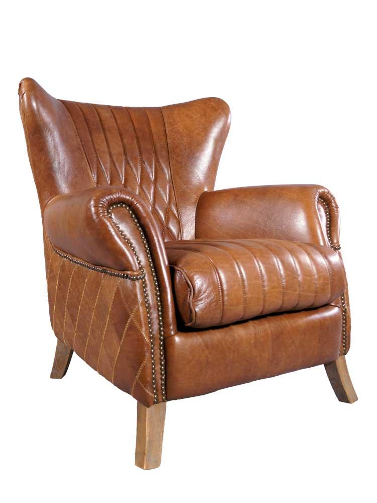 ohrensessel enfield leder whisky brown rotbraun m bel ledersessel sessel ebay. Black Bedroom Furniture Sets. Home Design Ideas