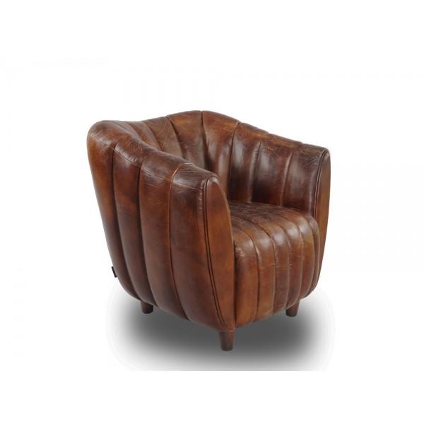 cocktailsessel juniper gerippt leder ledersessel vintage sessel m bel neu ebay. Black Bedroom Furniture Sets. Home Design Ideas