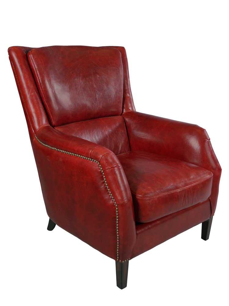 lehnsessel lewes royal rouge vintage leder m bel sessel ohrensessel ledersessel 791756422283 ebay. Black Bedroom Furniture Sets. Home Design Ideas
