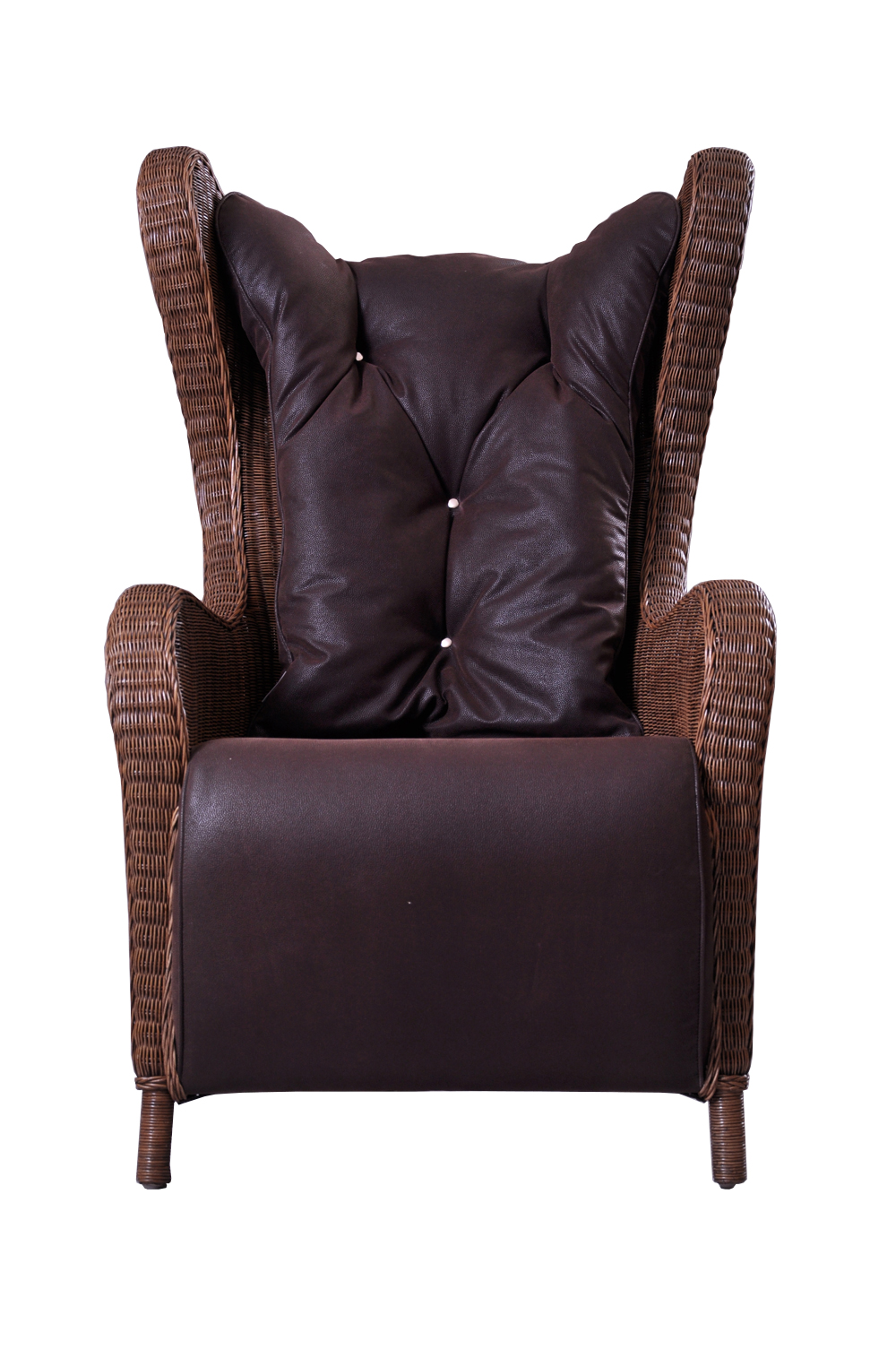 ohrensessel rattan alcantara fu hocker naturrattan sessel. Black Bedroom Furniture Sets. Home Design Ideas