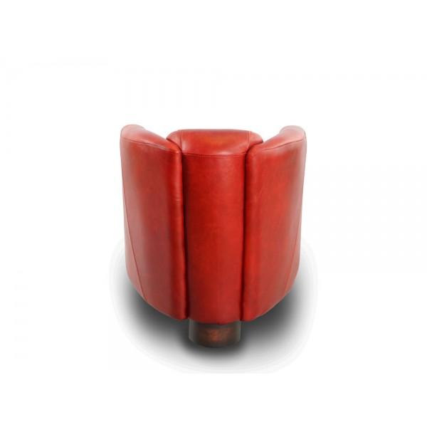 clubsessel rocket royal rouge rot leder ledersessel. Black Bedroom Furniture Sets. Home Design Ideas