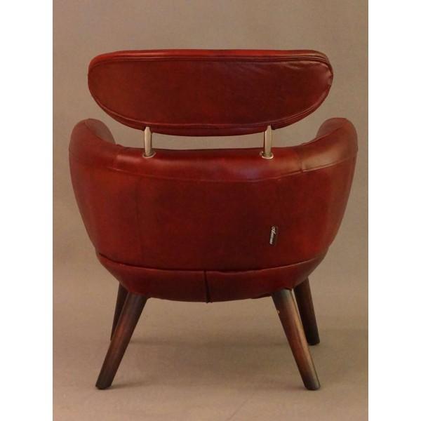 designsessel swinford vintage leder royal rouge ledersessel sessel m bel design ebay. Black Bedroom Furniture Sets. Home Design Ideas