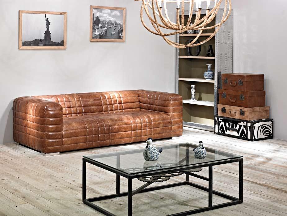 birsay hell echtleder design vintage antik ledersofa designsofa dreisitzer sofa 791756419092 ebay. Black Bedroom Furniture Sets. Home Design Ideas