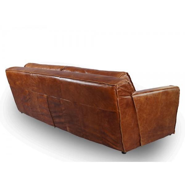 vintage echtleder sofa redhill ledersofa 2 5 sitzer. Black Bedroom Furniture Sets. Home Design Ideas