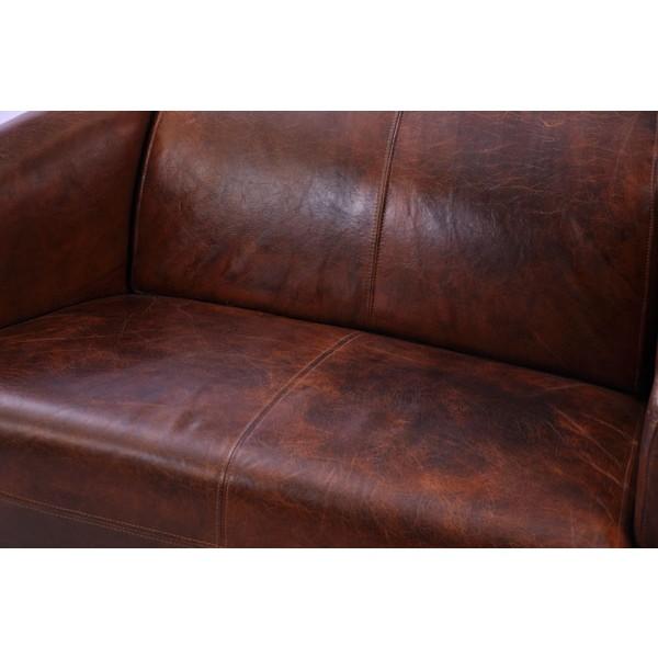 Vintage Leder Design Zweisitzer Klassiker Sofa Rocket Antik Ebay