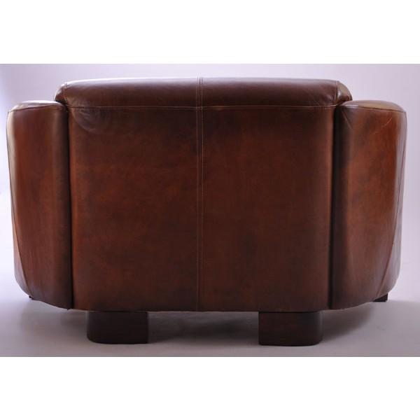 vintage leder design zweisitzer klassiker sofa rocket antik ebay. Black Bedroom Furniture Sets. Home Design Ideas