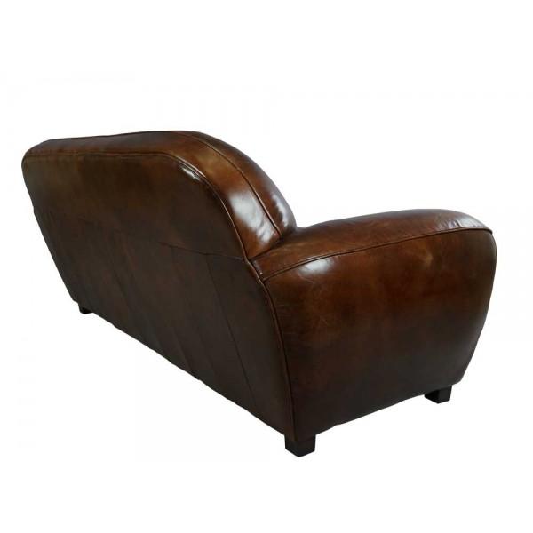 derry vc fu hocker vintage leder hocker lederhocker m bel repro neu ebay. Black Bedroom Furniture Sets. Home Design Ideas