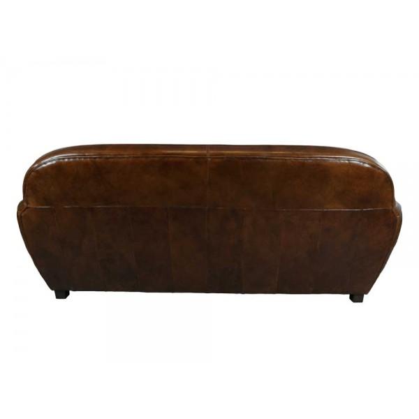derry vc fu hocker hellbraun vintage leder hocker. Black Bedroom Furniture Sets. Home Design Ideas
