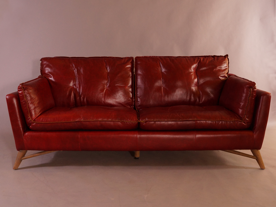 bantry sofa 3 sitzer design ledersofa royal rouge vintage leder m bel couch 3er 791756419139 ebay. Black Bedroom Furniture Sets. Home Design Ideas