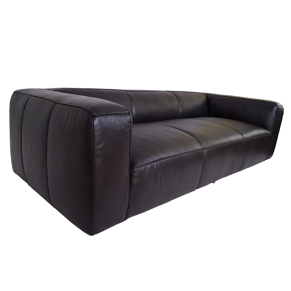 echtleder sofa dublin leder designsofa 3 sitzer clubsofa. Black Bedroom Furniture Sets. Home Design Ideas