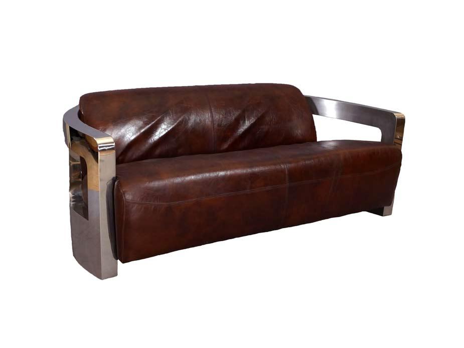 design clubsofa mars 3 sitzer sofa ledersofa dreisitzer. Black Bedroom Furniture Sets. Home Design Ideas