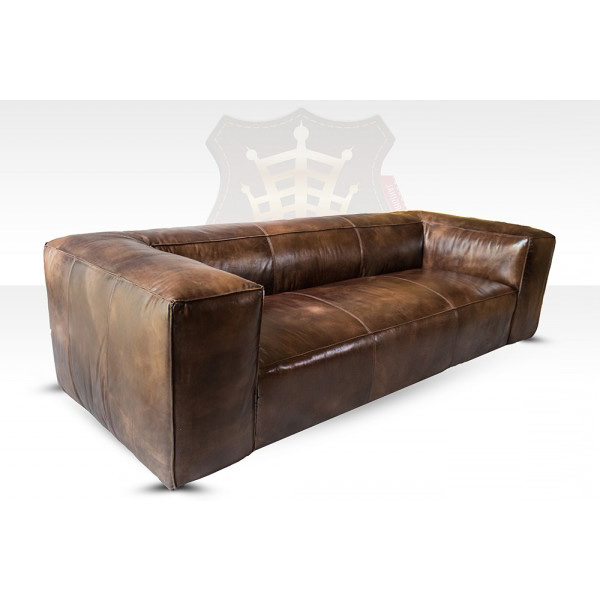 lounge sofa sofa 3 sitzer tribeca vintage leder m bel antique whisky ebay. Black Bedroom Furniture Sets. Home Design Ideas