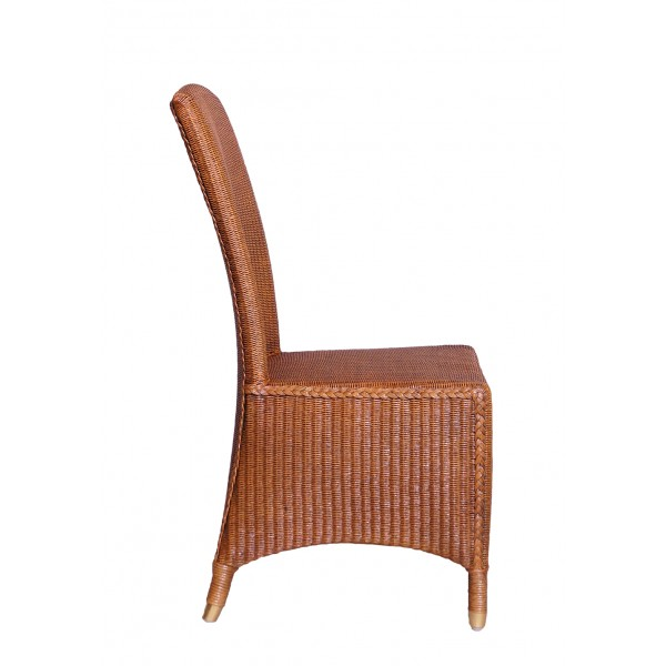 Rattan Chair Loom Rostock Dark Dining Chair Armrest Chair