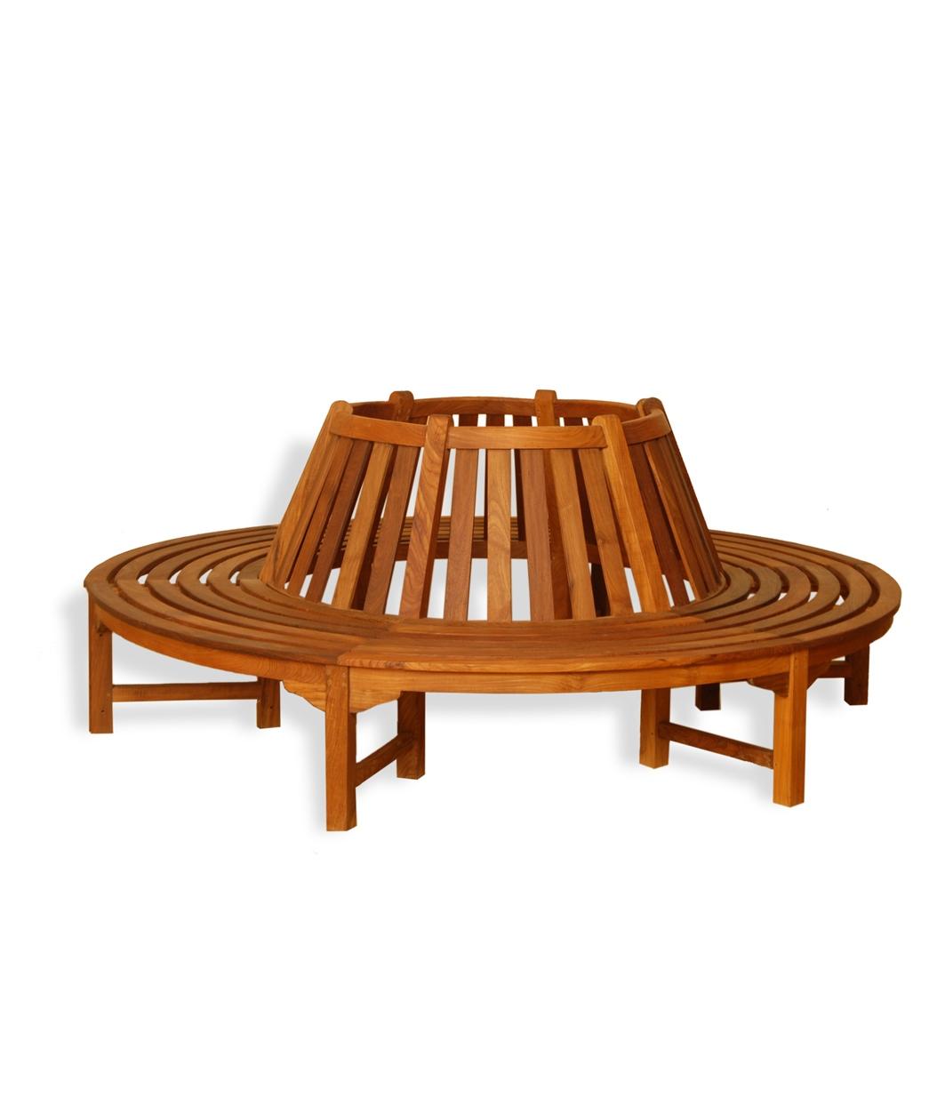 baumbank teakholz 220cm rundbank teakholzbank holzbank gartenbank bank ebay. Black Bedroom Furniture Sets. Home Design Ideas