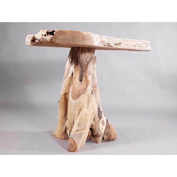 teakholz stehtisch bistrotisch tisch beistelltisch. Black Bedroom Furniture Sets. Home Design Ideas
